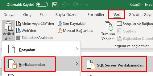 Excel - Sql Bağlantısı (Excel, Logo, SQL Bağlantısı)